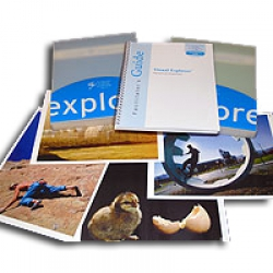 Visual Explorer - letter format