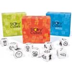 Samlet pakke m/ 4 forskellige Rory's Story Cubes fortælle-terninger