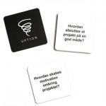 Uption dialogkort - Pakke-tilbud 10 sæt